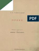 I.L.CARAGIALE-Opere-Articole politice şi cronici dramatice-1938