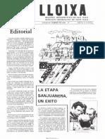 LLOIXA. Número 32, febrero/febrer 1984. Butlletí informatiu de Sant Joan. Boletín informativo de Sant Joan. Autor