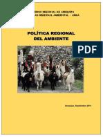 76132250 01 Politica Regional Del Ambiente
