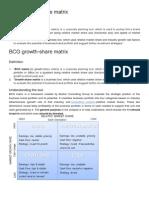 BCG Growth