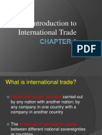 Chapter 1 Introduction to International Trade