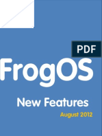 The Frog VLE Software Update ENG