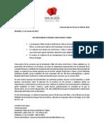 Comunicado de Prensa 004