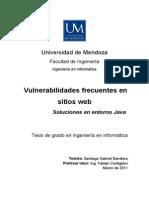 Tesis Seguridad en Aplicaciones Java Web