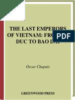 The Last Emperors of Vietnam