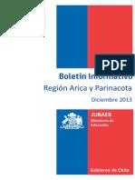 Boletin Informativo Diciembre 2013