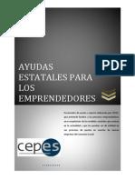 Ayudas estatales para emprendedores