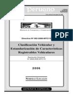 clasificacio vehiculos