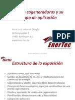 1ra conferencia - plantas cogeneradoras y su campo de aplicación