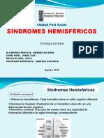 SINDROME HEMISFERICO