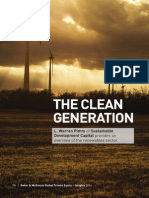The Clean Generation