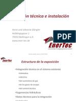 Integración técnica e instalación