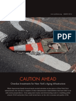 Caution Ahead, Center for an Urban Future