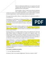 ADMINISTRACIÓN PÚBLICA PARA EL DESARROLLOINTEGRAL. UNA CUESTIÓN DE INTERÉS PÚBLICO - Notas