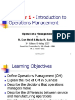 Operations Management Business