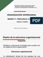 Sesion 04 - EstrEstructura y Diseño de  una Org