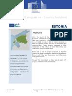 Estonia Update en Final Dec13