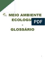 GLOSSÁRIO MEIO AMBIENTE