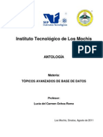 Apuntes Tópicos Bases Datos