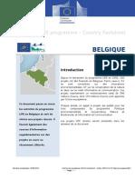 LIFE Programme - Belgique