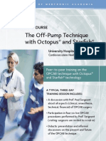 Medtronic Off Pump Training Technique - Event Annoucement