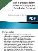 Peranan Kerajaan Dalam Membantu Bumiputera Sabah Dan Sarawak