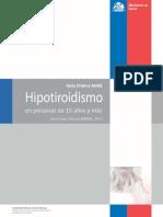 Auge Hipotiroidismo
