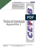 Apostila i Tecnicas de Comunicacao