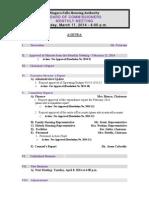 Niagara Falls Housing Authority agenda - March 11, 2014