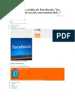 La Historia Oculta de Facebook