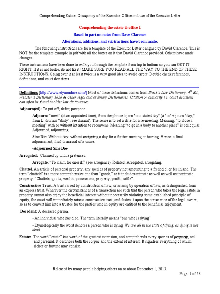 19 comprehending the estate office 1 probate will and testament spiritdancerdesigns Choice Image