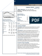 Jaguar Mining_RBC Capital_11 August 2011