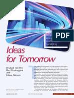 Ideas for Tomorrow