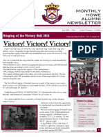 February/March 2014 Alumni Maroon and White Newsletter