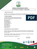 CU 63 - Risultati 7° Giornata Ritorno - Decisioni del Giudice Sportivo