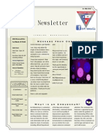 Newsletter 1 St Qt r 2014