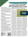 Area de trigo crescerá 10% embalada por safra recorde