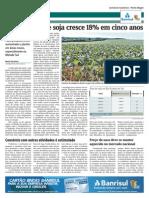 Area gaúcha de soja cresce 18% em cinco anos