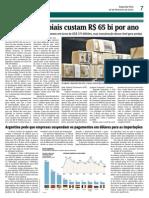 Argentina pede que empresas suspendam os pagamentos em dólares para as importações
