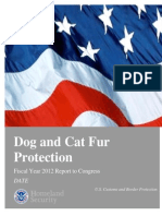 Dog and Cat Fur Report