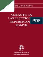 Alicante en Las Elecciones Republicanas