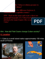 12 - Cuban Revolution