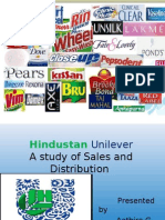 Sales and Distribution -Hindustan Uni Lever