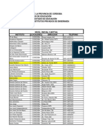 Edu Institutos- Adscriptos Nivel-Inicial Primario Secundario CAPITAL