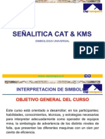 Curso Senalitica Simbologia Maquinaria Pesada Caterpillar Kms