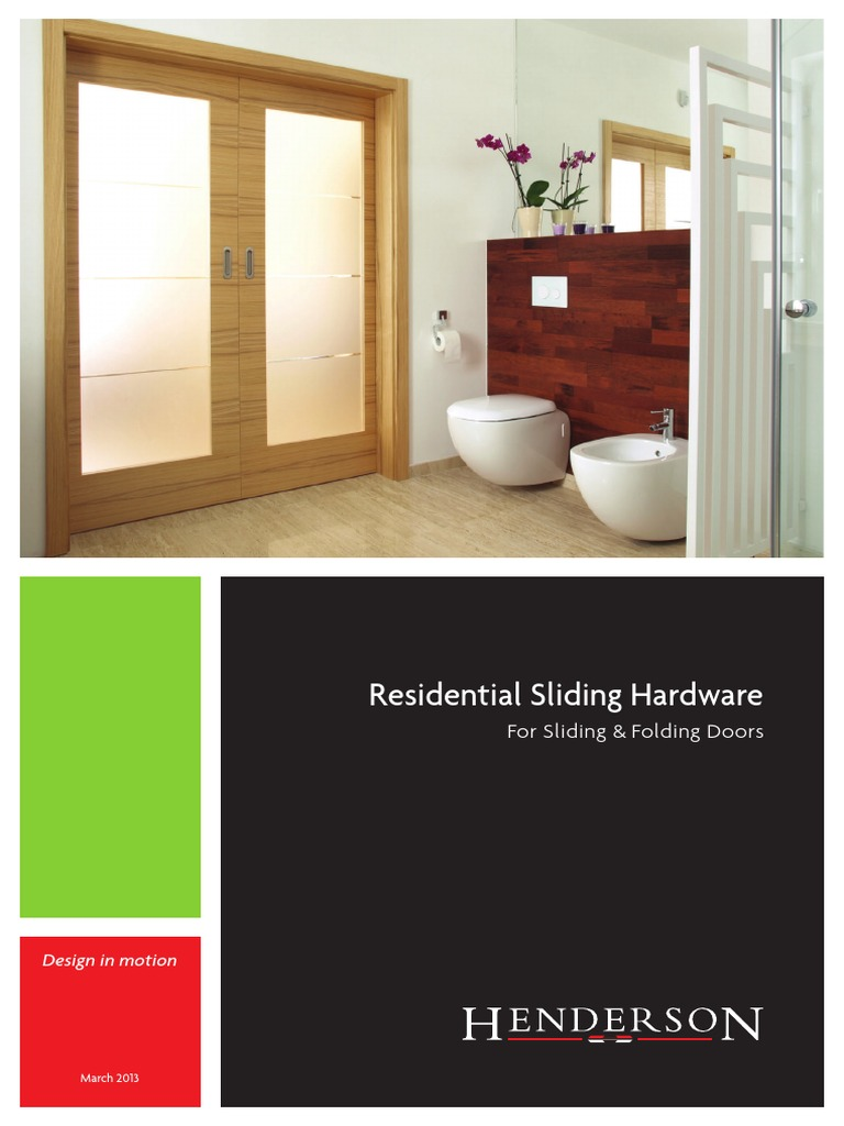 Sliding Folding Door Henderson Door Framing Construction