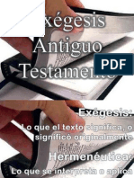 INTRODUCCIÓN A LA EXEGESIS AT