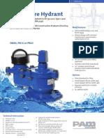 VCA03 FH2 CE Fire Hydrant
