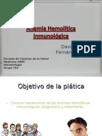Anemia hemolítica inmunológica