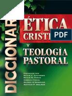 Diccionario Etica